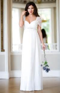 maternity bridesmaid silk maternity wedding gown ivory maternity wedding dresses evening wear and