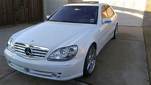 Find Used 2001 Mercedes Benz S430 White Excellent