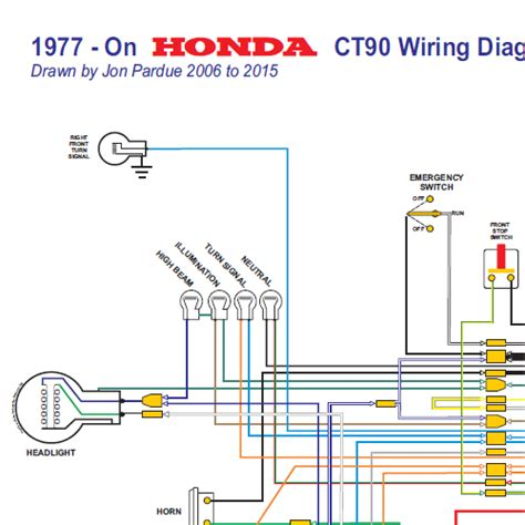 Honda Wiring Diagram All Systems Home