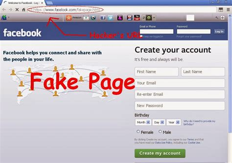 How To Hackers Hack FaceBook Account Using Phishing Attack