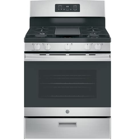ge   standing gas range jgbsrekss ge appliances