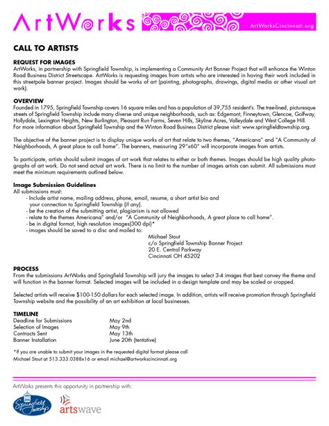 Normal Resume Exles by Artist Profile Format 28 Images 8 Artist Biography Sle