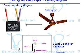 ceiling fan 3 wire capacitor wiring diagram simbol in 2019 ceiling fan installation ceiling
