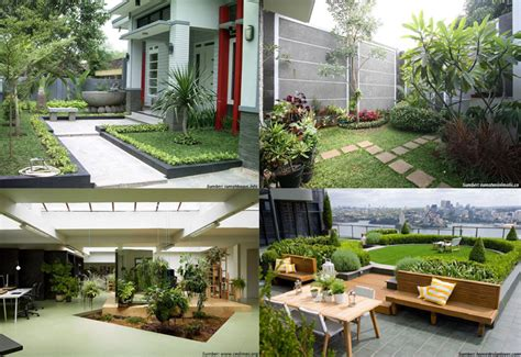 inspirasi taman minimalis berbagai sudut rumah