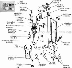 Hamilton Beach Hmd200-ce Parts List And Diagram