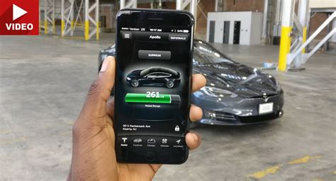 Tesla Car Apps by Here S What The Tesla App Can Do To Your Model S Carscoops