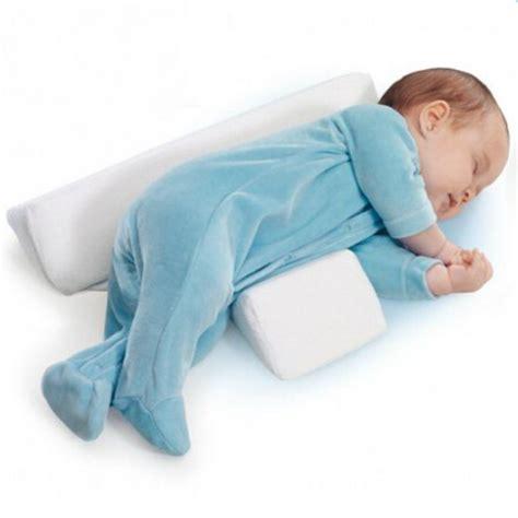 baby wedge pillow hibaby newborn baby sleep positioner infant anti roll