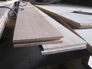 Lame De Parquet Chene : parquet ch ne massif de 22 mm facile monter plancher ~ Edinachiropracticcenter.com Idées de Décoration