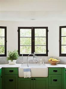 black window trim modernize With best brand of paint for kitchen cabinets with old window frame wall art