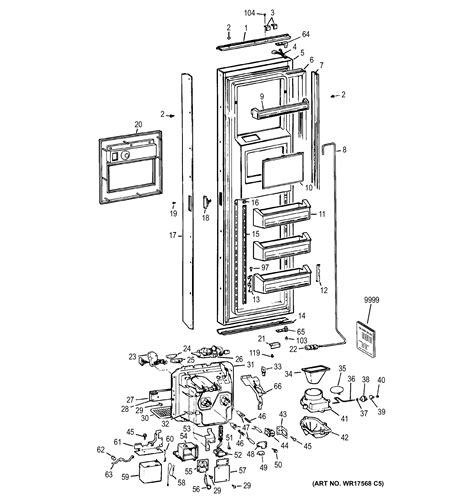 ge ge refrigerators parts model zisbemb sears partsdirect