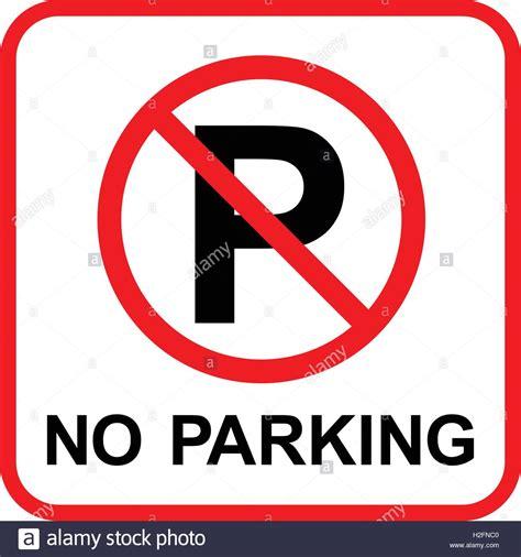 schild parken verboten keine parkpl 228 tze parken verboten schild vector