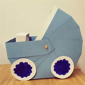 Weihnachtsgeschenke Für Eltern Basteln : als geschenkkorb f r werdende eltern einen kinderwagen aus papier basteln einfach und schaut ~ Orissabook.com Haus und Dekorationen