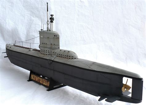 U Boat Xxiii by The Great Canadian Model Builders Web Page U Boot Type