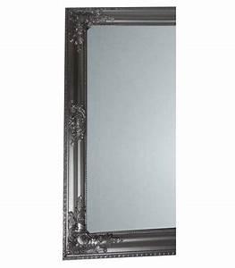 Miroir Baroque Argenté : grand miroir baroque rectangulaire argent chez ~ Teatrodelosmanantiales.com Idées de Décoration