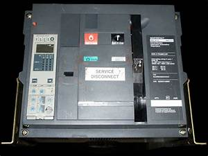 Square D 3000 Amp Insulated Case Circuit Breaker Model Nw