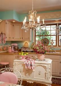 Mod, Vintage, Life, Pink, Kitchens