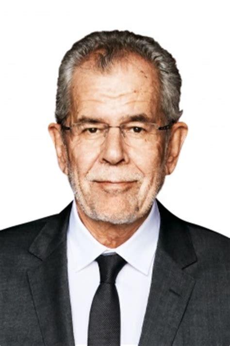 dr alexander van der bellen biografie
