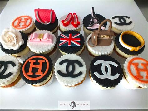 Luxury Brand Cupcakes For This Lady's Birthday
