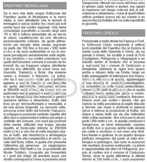 Romagna E Sangiovese Testo - enogea 187 romagna sangiovese