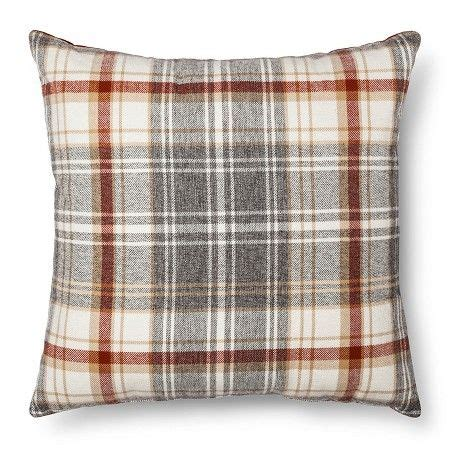 Target Bedroom Throw Pillows by Throw Pillow Plaid Oversized Threshold Target Magee