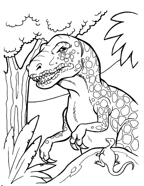 dinosaur coloring pages coloringpages