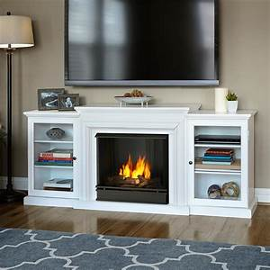 Real Flame Frederick 72 in Entertainment Center Ventless