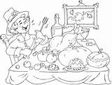 Coloring Feast Thanksgiving Pilgrim Pages Pilgrims Printable Children Sheets Liveitbeautiful sketch template