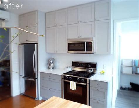 clean simple kitchen redo designsponge