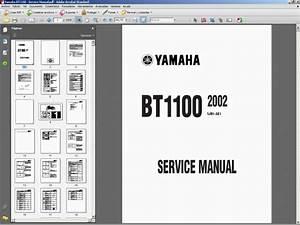 Yamaha Bt1100 - Service Manual