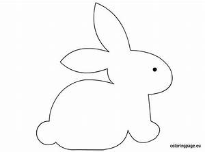 bunny craft template easter pinterest bunny crafts With bunny rabbit templates free