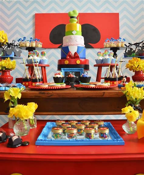 mickey mouse  birthday adventure birthday party