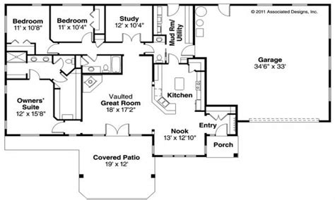 bedroom modular home floor plans  bedroom ranch style