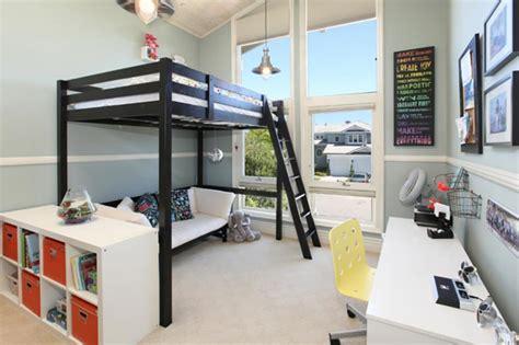 chambre ado fille avec lit mezzanine lit mezzanine pour une chambre d ado originale design feria