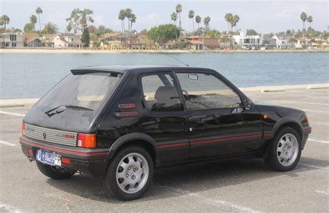 Peugeot 205 Gti For Sale by 1989 Peugeot 205 Gti For Sale On Bat Auctions Sold For
