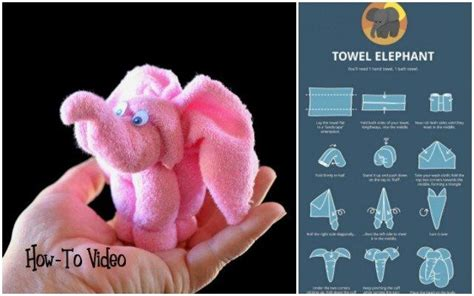 Diy Towel Elephant T Wrapping Tutorials T Wrapping