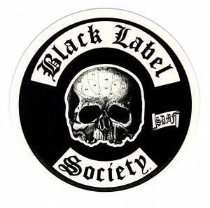 Black Label Society Skull Logo Sticker