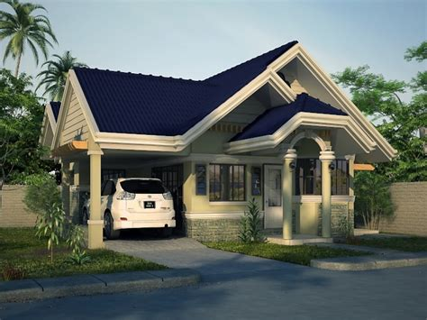 2 Bedroom House Simple Plan Simple House Bungalow Design