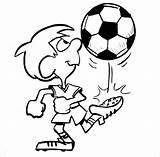 Coloring Soccer Pages Boys Football Boy Printable Cliparts Colouring Playing Cartoon Sheets Clipart Play Drawing Player Ball Kicks Template Pdf sketch template