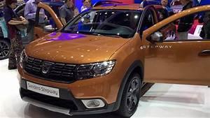 Defaut Dacia Sandero : dacia sandero stepway 2017 in detail review walkaround interior exterior youtube ~ Medecine-chirurgie-esthetiques.com Avis de Voitures