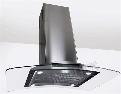 Ductless Under Cabinet Range Hood by 36 Quot Island Mount Stainless Steel Kitchen Range Hood Stove