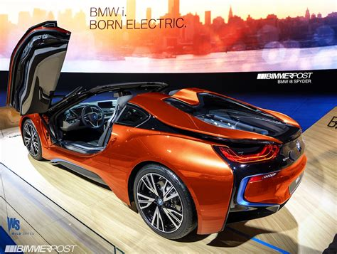 BMW i8 Spyder Approved for Production