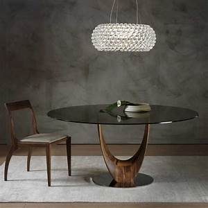 Esstisch Rund Ausziehbar Holz : design tisch glas rund ~ Bigdaddyawards.com Haus und Dekorationen