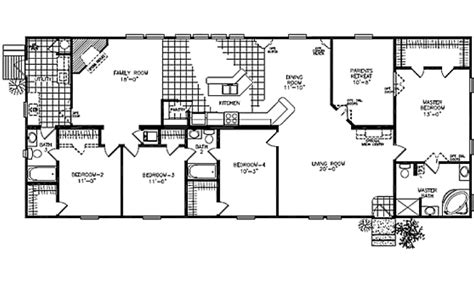 Ranch Modular Home Floor Plans