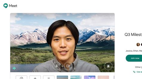 Google Meet Virtual Background, How To Change Background ...