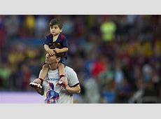 Thiago Messi's appearance at Barca celebrations has