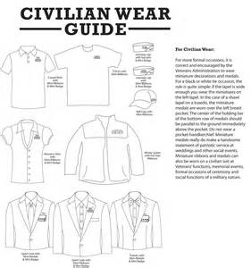 medals ribbons civilian wear guide military blogmedals