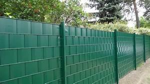 Zaun Mit Steinen Gefüllt Preis : zaun und garten gmbh sichtschutz f r doppelstabmatten ~ Whattoseeinmadrid.com Haus und Dekorationen