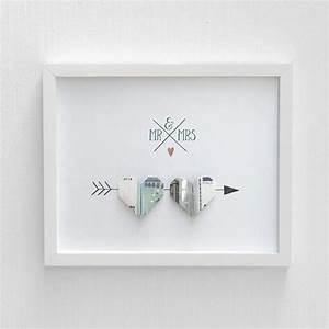 Idee Geldgeschenk Hochzeit : anleitung herz aus geld falten ein tolles geldgeschenk ~ Eleganceandgraceweddings.com Haus und Dekorationen