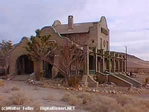 Nevada Rhyolite Ghost Town