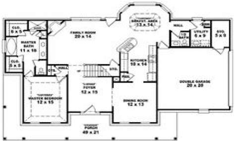 4 bedroom country house plans 4 bedroom 3 bath house plans 4 bedroom 3 bath single